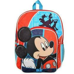 NEW Disney Mickey Mouse BE AWESOME Backpack School Kids $15.89