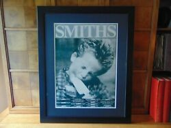 The Smiths Original The Queen Is Dead Tour Poster. Professionally Framed.