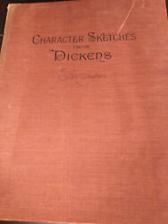 Character Sketches From Dickens Rare Antique F.o.c.darley 1800's Sketch Book