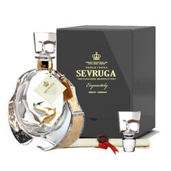 The Sevruga Exquisitely Grey Edition 70cl 40 Crystal Decanter Vodka Germany