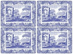 Pimpernel Placemats, Blue Italian, Set Of 4 2010648337