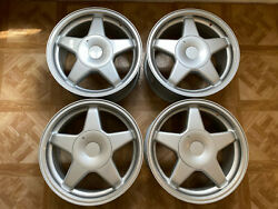 N.o.s. Cms Lightweight Alloy Wheels For Classic Fiat And Lancia 15 X 7 4x98