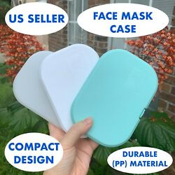 Soft Face Mask Carrying Case Box Cover Storage Protective Portable Holder Masks
