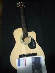 Willie Nelson Autographed Guiter