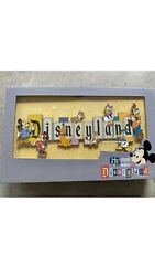 Disneyland Park 65th Anniversary Marquee Boxed Jumbo Pin Limited 1000 Coin