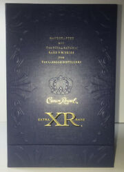 Crown Royal Xr Extra Rare Canadian Whisky Box Display Mint No Bottle