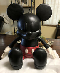 COACH X DISNEY Leather 26quot; MEDIUM MICKEY MOUSE DOLL Collectible LIMITED EDITION $1425.00