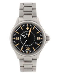 Free Shipping Pre-owned Sinn 856.b-uhr Black Dial Limited Model Watch