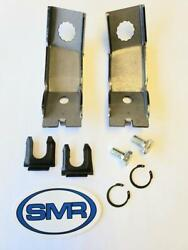 1965/66 Mustang And Other Fords Rh/lh Front Brake Hose Bracket Kit Made In The Usa