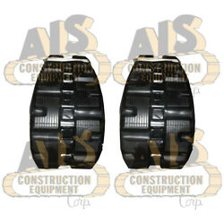 Two New Rubber Tracks Fits John Deere Models And Replaces Track Size 320x86bcx52