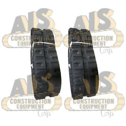 Set Of Two New Rubber Tracks Fits John Deere Models And Replaces Mpn 77700-05501