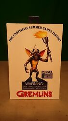 Neca Sdcc 2020 Convention Exclusive Ultimate Summer Games Gremlin Figure Rare