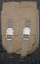 New Coyote Brown Lbt-9029a 556 Saw Rifle Mag Utility Admin Molle Pouch Devgru