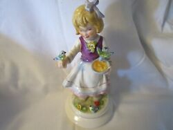 Goebel Limited Edition 1978 Hand Painted Girl Figurine Numbered And Signed 8