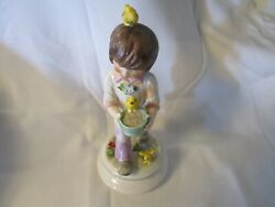 Goebel Limited Edition Boy Figurine Hand Painted Numbered And Signed 8