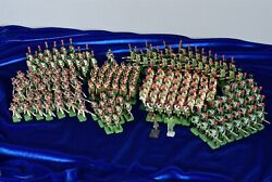 207 Piece Lead/cast Metal Metal Military Figurines