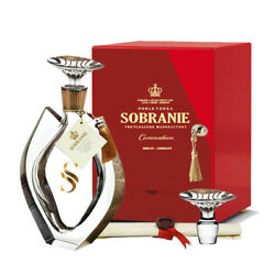 The Sobranie Coronation Edition 70cl 40 Crystal Decanter Noble Vodka Germany
