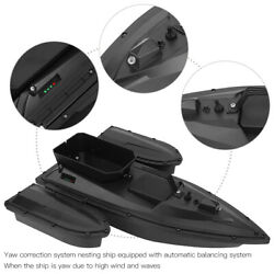 Abs 500m Rc Fishing Bait Boat Automatic Rowing Single Warehouse Nesting Ship New