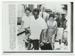 Press Photo Clarence Adams Family Defected From Us After Korean War China 1966