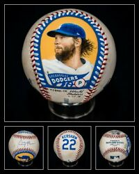 Baseball Authenticated Masterpieces Clayton Kershaw Game-used Auto Signed Dodger