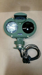 Mrap Armored Headlight Cluster With Socket Base Nos