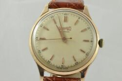 Eberhard Extra-continued Oversize Automatic Menand039s Watch 11601 1 13/32in 18k 750