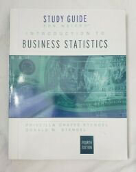 Study Guide Intro Business Stats 4th Edishion By Weiers