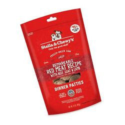 Stella And Chewyand039s Freeze-dried Raw Remarkable Red Meat Beef Goat And Lamb Rec...