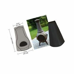 Jandc Outdoor Fire Pit Cover, Heavy Duty Patio Chiminea Cover, Waterproof Prote...