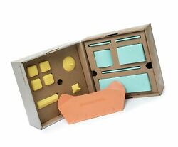 Sand Pal Beach Sand And Snow Castle Building Kit 9-piece Brick Maker And Toy S...