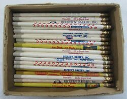 Collectible Antique Vintage Advertising Pencils Old Never Sharpened
