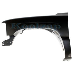 Capa Chevy Silverado Truck And Tahoe Front Fender Quarter Panel Primed Driver Side