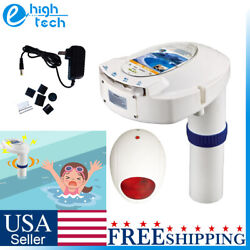 In Ground Swimming Pool Safety Alarm System Detector Children Pets Anti Downing