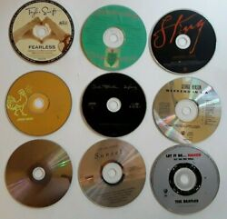 Lot Cd - You Choose Your Cd - Just 1 Each - No Case  Only Disc