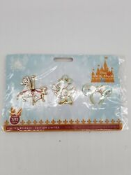 Minnie Disney Main Attraction Pins 2 Sets King Arthur Carousel And Dumbo Bundle