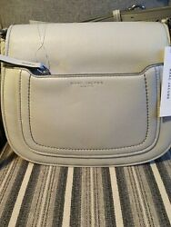 NEW MARC JACOBS EMPIRE CITY LIGHT GREY CROSSBODY M0013046 $110.00