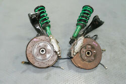 Used And Clean Pair Of Nissan R32 Gtr Front Hub, Caliper, Rotor And Tein Struts
