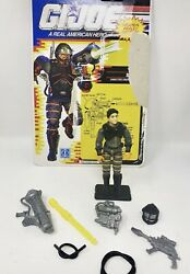 Gi Joe 1991 Sci-fi Complete With Full Card Arah Vintage Collectible