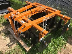 New Woods Dhs80c 80 3 Point Disk Harrow