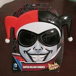 Officially Licensed DC Harley Quinn Super Villain Shades Glasses Sun Staches $4.95