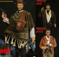 Redman Toys West Cowboy The Good The Bad And The Ugly 1/6 Action Figures