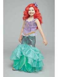 Nwt Chasing Fireflies Girls 12 Disney Ultimate Collection Princess Ariel Costume
