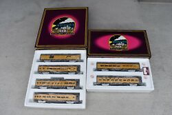 Mth Union Pacific 6 Passenger Car Set Baggage, Coach,baggage,vista,observation