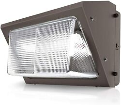 40watt Led Wall Pack Light For Outdoor 5000k Replace 230-350mh Ip65 Ul Dlc