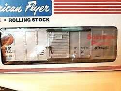 American Flyer Southern Pacific Boxcar, Nib Amf 4-9711 Rated C-10