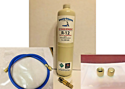 R12 Refrigerant R-12, 38 Oz. With Leak Stop, Proseal Xl4, Good For Up To 5 Hp