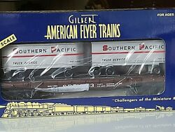 American Flyer 2003 Southern Pacific Flatcar With Piggyback Trailers, Amf 48622