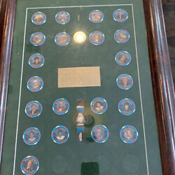 Iconic Binions World Series Of Poker Display Set And Mint Sealed Set