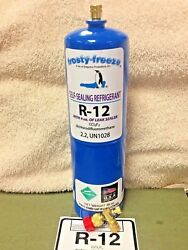 R12 Refrigerant R-12, 28 Oz. With Leak Stop, Proseal Xl4, Good For Up To 5 Hp