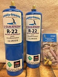 R22 Refrigerant R-22, 2 28 Oz. Leak Stop, Pro-seal Xl4, Good For Up To 5 Tons